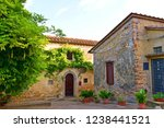 Traditional Stone Houses In Th...