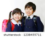 brother of the japanese primary ... | Shutterstock . vector #1238455711