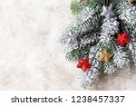christmas background with... | Shutterstock . vector #1238457337