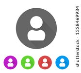 user account   app icon | Shutterstock .eps vector #1238469934