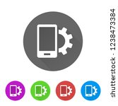 device settings   app icon | Shutterstock .eps vector #1238473384