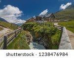 franz senn hutte  2 147 m asl ... | Shutterstock . vector #1238476984