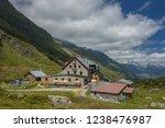 franz senn hutte  2 147 m asl ... | Shutterstock . vector #1238476987