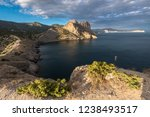 view of the rogue bay and koba... | Shutterstock . vector #1238493517