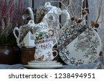 Vintage China  Porcelain Tea...