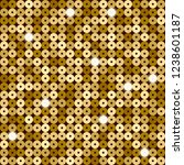 seamless pattern of gold... | Shutterstock .eps vector #1238601187
