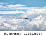 light aircraft  deltaplane ... | Shutterstock . vector #1238635384