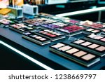 cosmetics on the shop window... | Shutterstock . vector #1238669797