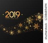 christmas greeting card  poster ...   Shutterstock .eps vector #1238685694