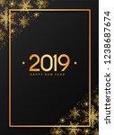 christmas greeting card  poster ...   Shutterstock .eps vector #1238687674