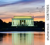 Abraham Lincoln Memorial At...