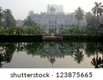 Small photo of DHAKA, BANGLADESH - DECEMBER 13: Rose Garden Palace on December 13, 2012 in Dhaka,Bangladesh. Rose Garden Palace was built as a pleasure lodge for the well-heeled residents in the nineteenth century.