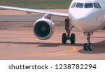 close up  large white aircraft... | Shutterstock . vector #1238782294