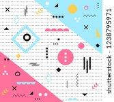 funky design background  modern ...   Shutterstock .eps vector #1238795971