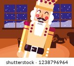christmas nutcracker design | Shutterstock .eps vector #1238796964