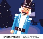nutcracker toy design | Shutterstock .eps vector #1238796967