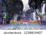 autonomous driving concept... | Shutterstock . vector #1238819407