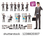 male business characters vector ... | Shutterstock .eps vector #1238820307