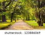 park in spring time | Shutterstock . vector #123886069