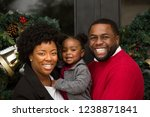 african american family playing ... | Shutterstock . vector #1238871841