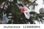 close up of christmas tree...   Shutterstock . vector #1238880841
