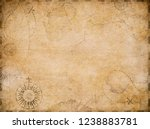 old nautical treasure map... | Shutterstock . vector #1238883781