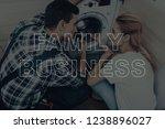 repairman are working.... | Shutterstock . vector #1238896027
