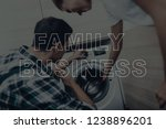 repairman are working.... | Shutterstock . vector #1238896201