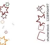 geometric memphis background.... | Shutterstock .eps vector #1238906497