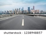 road ground and urban skyline... | Shutterstock . vector #1238948857