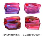 vector colorful paint smear... | Shutterstock .eps vector #1238960404
