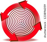 off button renewal | Shutterstock . vector #123896059