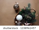 christmas. new year. winter.... | Shutterstock . vector #1238961457