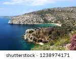 thasos  island in aegean sea ... | Shutterstock . vector #1238974171
