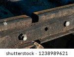 railway passing through the...   Shutterstock . vector #1238989621