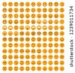emoji face smiley icon | Shutterstock .eps vector #1239011734