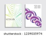 modern covers with gradient... | Shutterstock .eps vector #1239035974