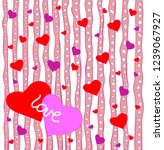 congratulatory valentine's day... | Shutterstock .eps vector #1239067927