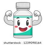 illustration of a vitamin... | Shutterstock .eps vector #1239098164