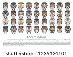 vector illustration.... | Shutterstock .eps vector #1239134101