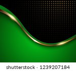 abstract background green with... | Shutterstock .eps vector #1239207184