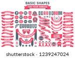 vintage retro vector logo for... | Shutterstock .eps vector #1239247024