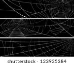 vector silhouette of web of... | Shutterstock .eps vector #123925384