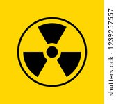 reproduction of radioactive... | Shutterstock . vector #1239257557