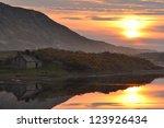 Sunset At River Naver ...