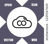 co2 icon vector   Shutterstock .eps vector #1239267634