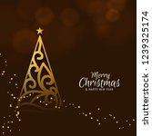merry christmas festival... | Shutterstock .eps vector #1239325174