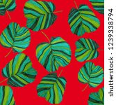 creative seamless pattern with... | Shutterstock . vector #1239338794