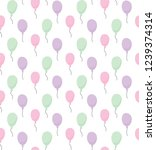 vector seamless pattern with...   Shutterstock .eps vector #1239374314