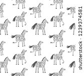 vector seamless pattern with...   Shutterstock .eps vector #1239374581